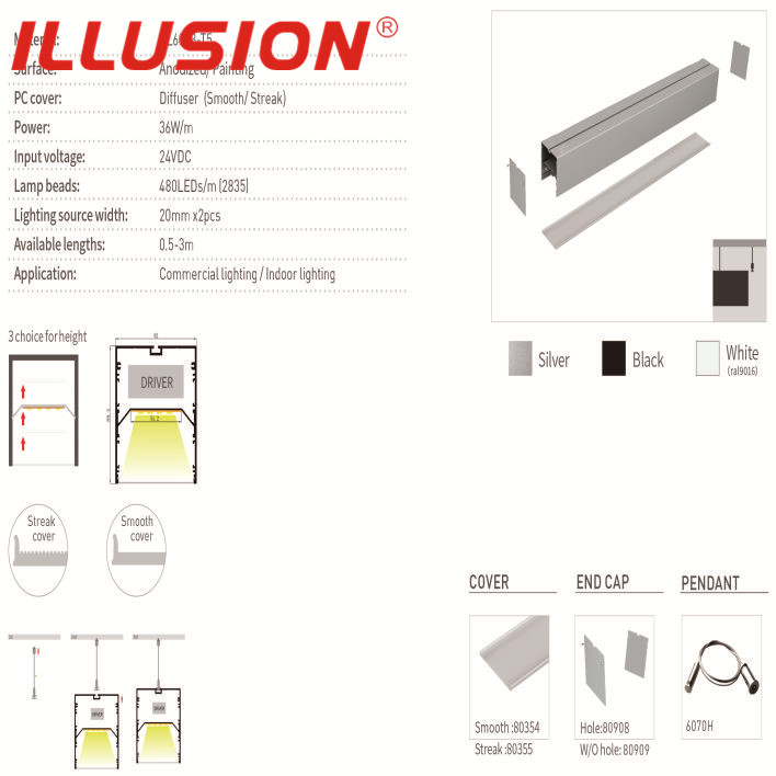LED Linear Light--Aluminium Profile